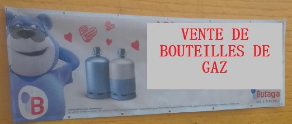 Vente de bouteilles de gaz à Oisy (Aisne)